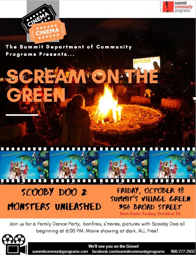SCREAM ON THE GREEN D