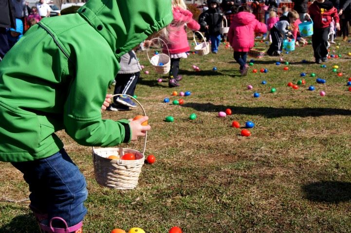 Happy hunting at the PAL Egg Hunt